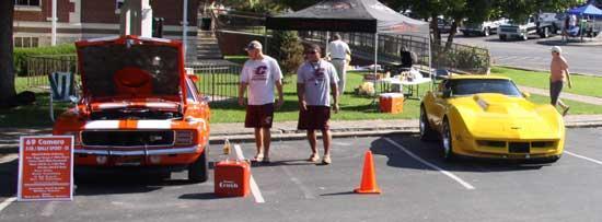 Football Team Car Show