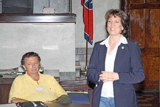 Cannon County GOP Hosts Senatorial Candidate Lynn