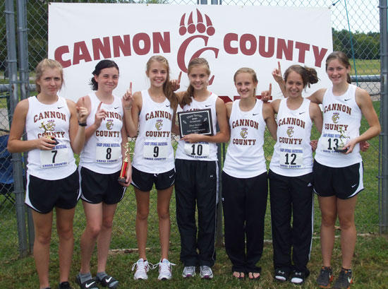Cross Country Girls Win Two Meets