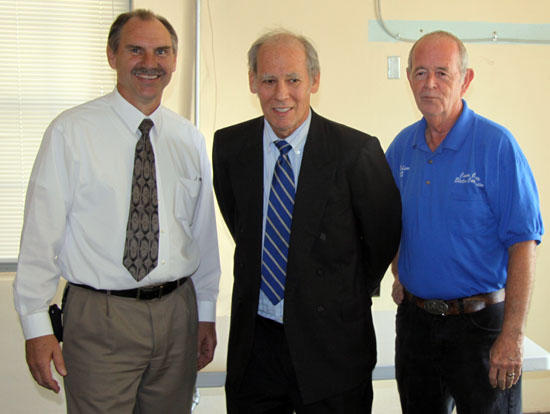 Comptroller Visits Cannon County; Quarry Discussed