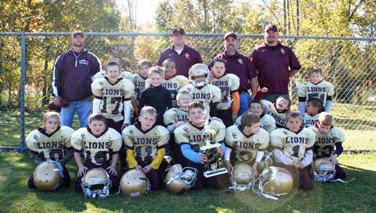 Little Lions Finished Fourth