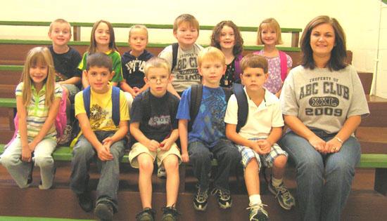 1st Grade Behavior Award At Short Mountain School