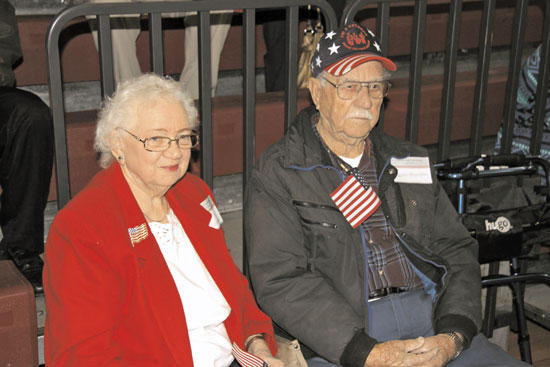 Veterans Thank Supporters