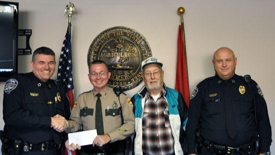 State Troopers Donate To Local Food Drive