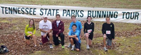 CCHS Cross Country Takes State Parks Running Tour