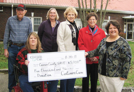 MTE Customers Care Donates $5K To S.A.V.E.