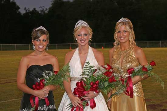 Cannon County High 2009 Homecoming Court