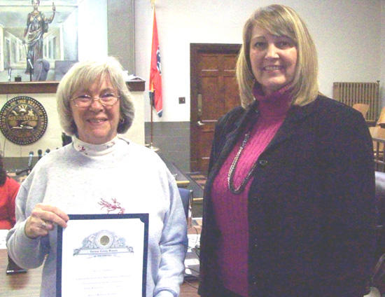 School Board Honors Retiring Educator