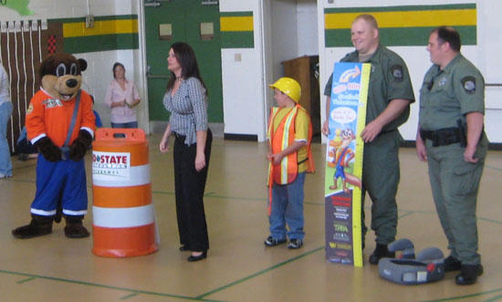 Ollie The Otter Safety Program Visiting Cannon County