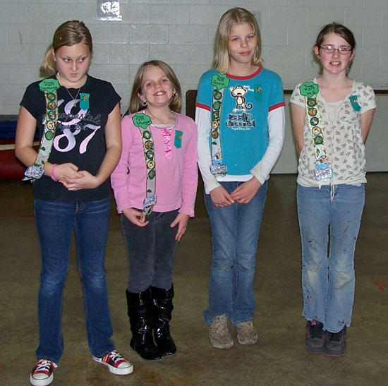 Girl Scout Awards Ceremony