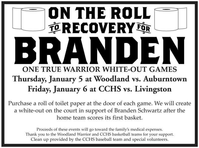 Jan. 6: 'One True Warrior' White-Out Game At CCHS