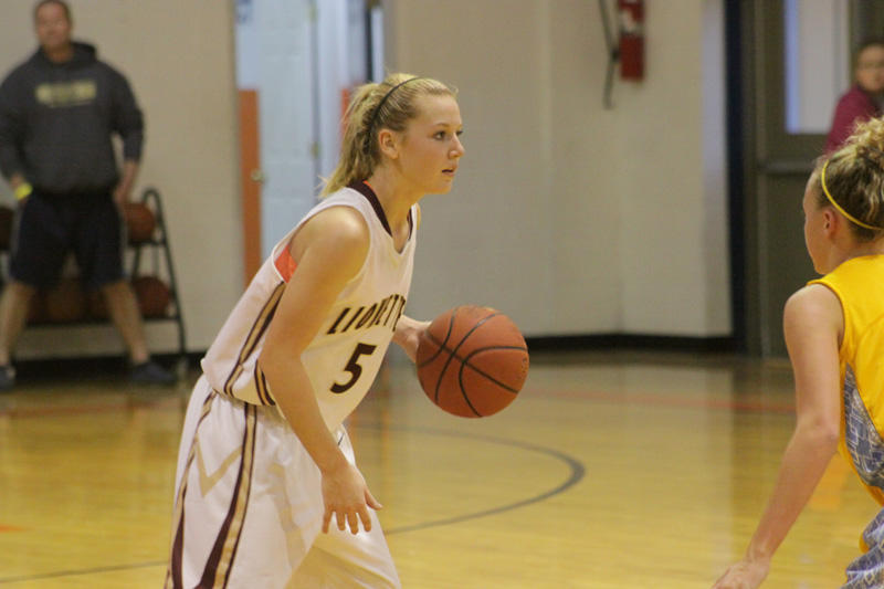 Trousdale Can't 'Box' Lionettes Out From Taking Big Win
