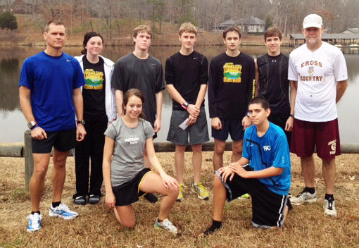 CCHS Competes In Chickasaw Chase 10 Miler