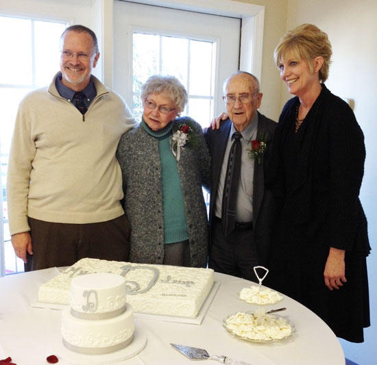 Auburntown Couple Celebrates 70th