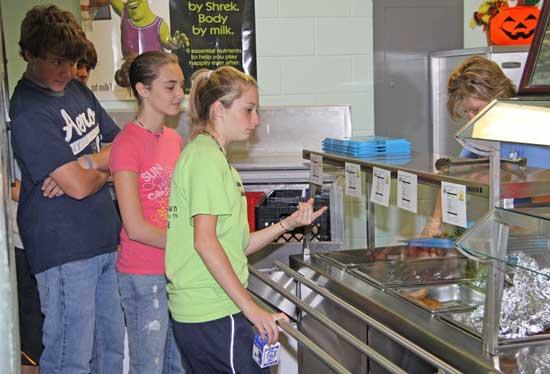 Cannon Schools Urging Students To Make Healthy Food Choices