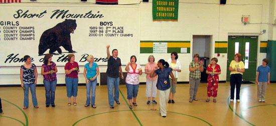 Wal-Mart Donates To Short Mountain School
