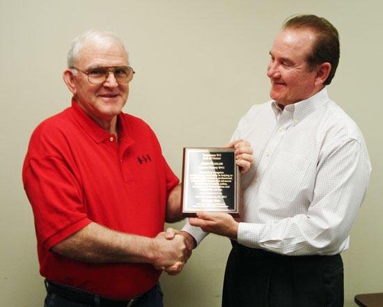 Naylor Inducted Into 911 Hall Of Honor