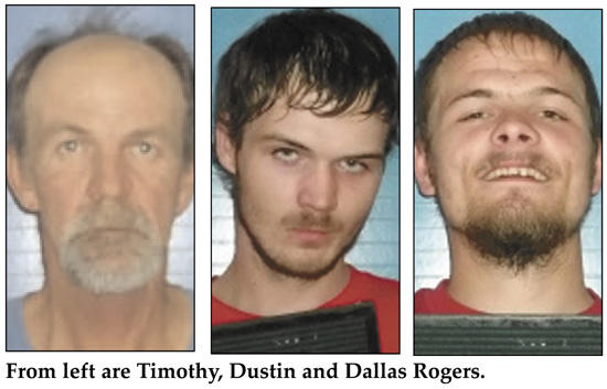 Rogers 'Raiders' Rounded Up On Theft Charges