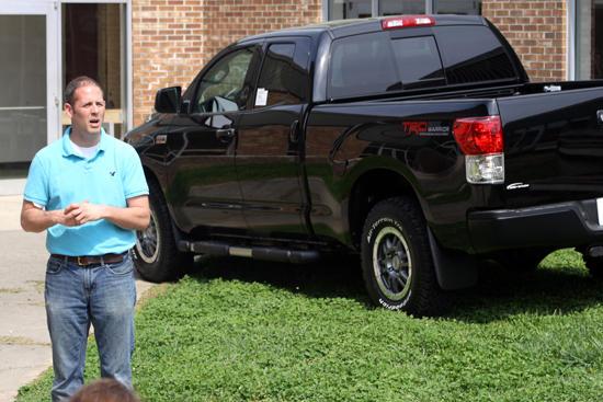 Local Ag Teacher Awarded New Truck