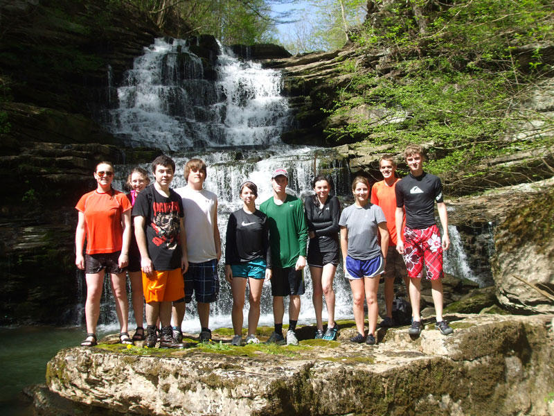 CCHS Outdoor Club Spring Break Paddle