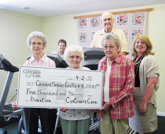 Senior Citizens Center Receives $4K Grant