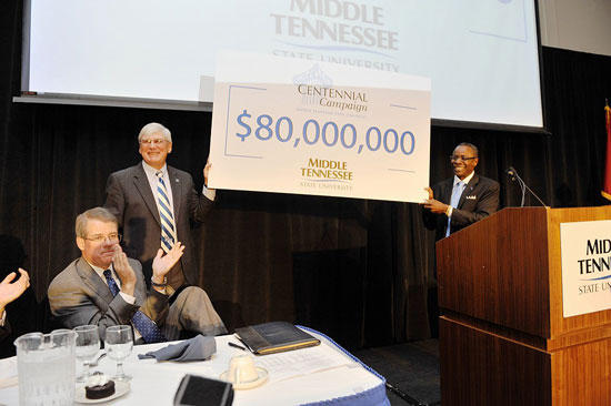 MTSU Announces Largest Capital Campaign In School History