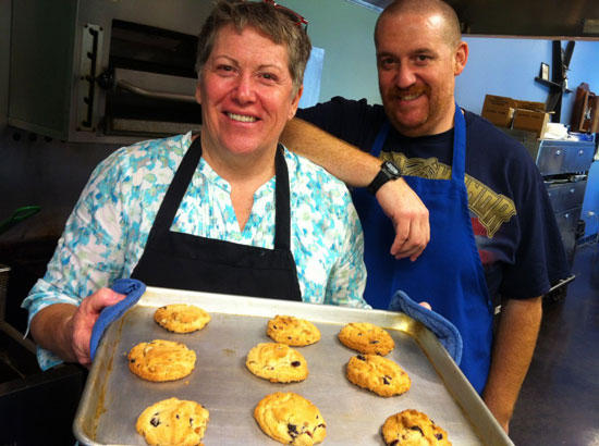Enjoy Moonshine Cookies At The Blue Porch