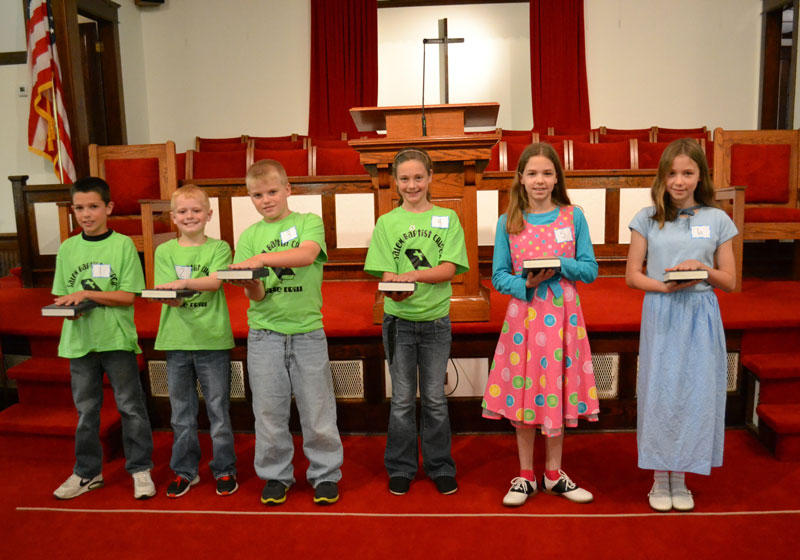 Salem Association Bible Drill Competitions