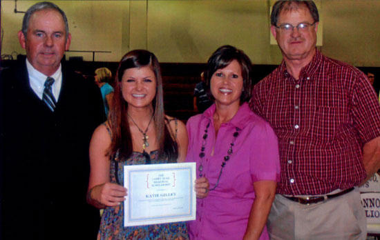 Trail Scholarship Awarded To Gilley