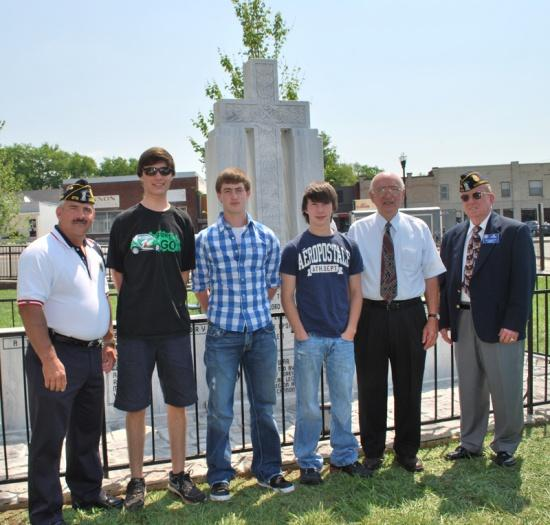 American Legion Sends Trio To Boys State
