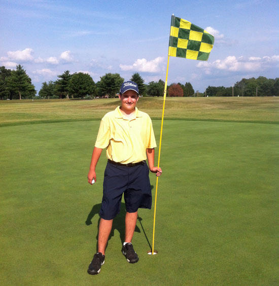 Parker Hits Hole-In-One