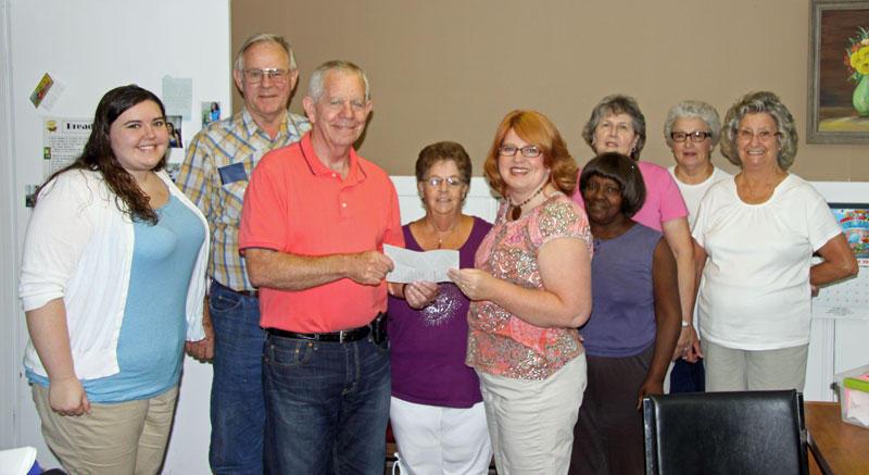 Woodbury Supports Senior Center
