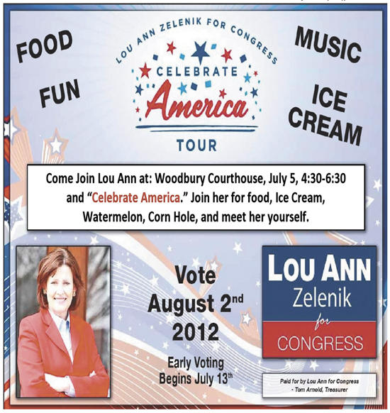 July 5: Zelenik Celebrate America Tour