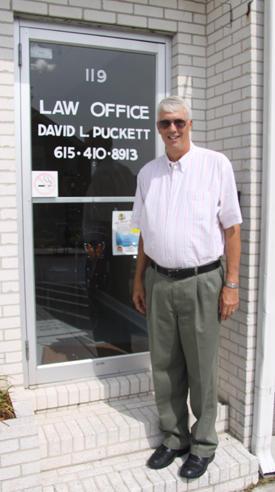 Former Prosecutor Puckett Now Defends
