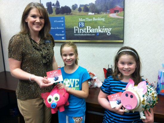 FirstBank Congratulates Piggy Bank Pageant Winners