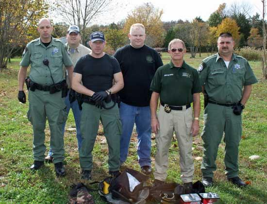 Sheriff's Department Busts Large Meth Lab