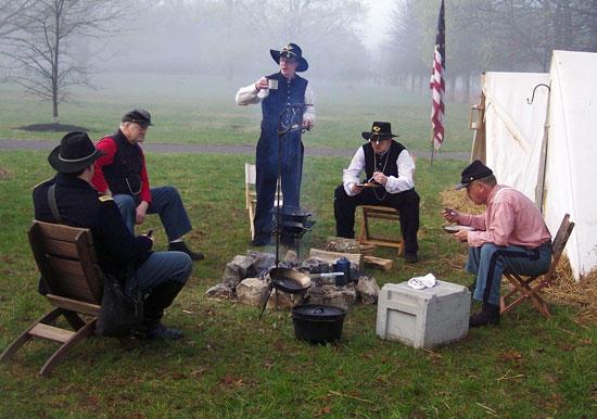 Oaklands Mansion Re-enacts Gen. Forrest's surrender