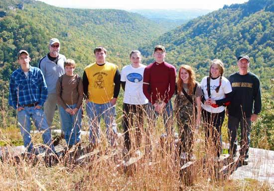 Cannon County Outdoor Club Fall Break Hike