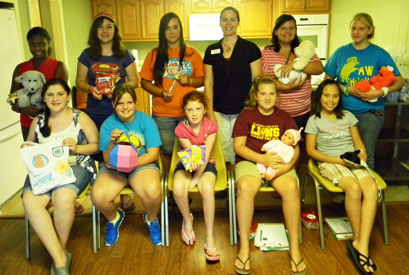 10 Complete 4-H Babysitting Course