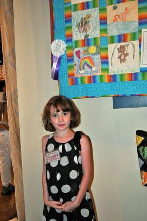 Robbins Enters Quilt Show