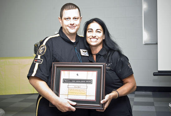 Vanderbilt Lifeflight Awards Cannon County Resident