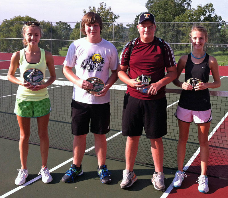 Local Mixed Doubles Teams Finish First, Second