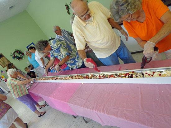 Senior Center Celebrates Banana Split Day