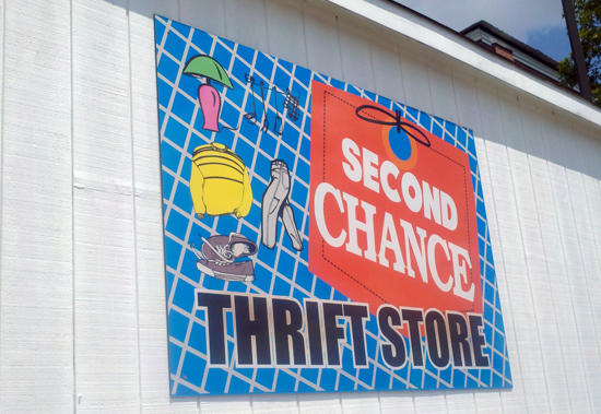 Second Chance Thrift Store Summer Sale
