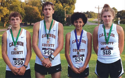 X-Country girls capture title; boys second | Cannon County, Cross Country, Forrest All Comers Meet, Lionettes, Lions, Sports, Devin Burgess, Jordan Turney, Elva Magana, Macy Clements