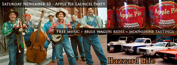 Apple Pie Moonshine to premiere | Apple Pie Moonshine, Short Mountain Distillery
