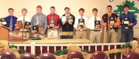 Football honors