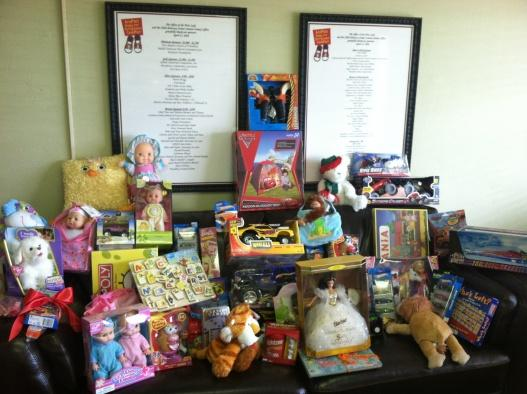 Child Advocacy Center bright with gifts