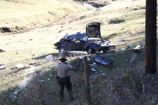 2-year-old dies in crash | Fatality, 2013, Sunny Slope Road