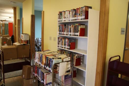 Library reopens as work continues | Library reopens